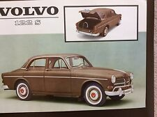 1962 Volvo 122S Sales Sheet