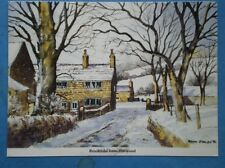 POSTCARD LANCASHIRE HARWOOD - BROOKFIELD WATERCOLUR