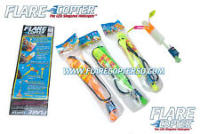 Flare Copter - 12Pk - The Original LED Slingshot copter - New Years Party Favor