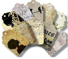 7 Gypsies ~ Art Tags - 20 tags Journaling~Photo Collages~Cards~Albums NEW! 17936