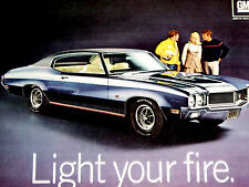 1970 BUICK SKYLARK GS 455 STAGE 1 PRINT AD-poster/photo/picture-V8 engine/1971