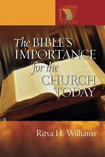 The Bible's Importance for the Church Today (Lutheran Voices)