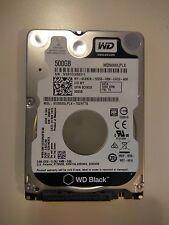 Western Digital WD Black  500 GB 7200RPM 2,5'' SATA Hard Drive -   WD5000LPLX