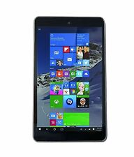 Linx 810LTR 8 Inch Tablet Windows 10 Operating System 32GB Storage Leather Back