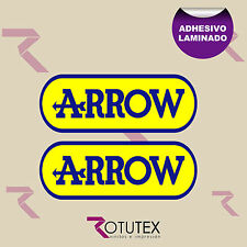 2X ARROW ESCAPE ADHESIVO PEGATINA DECAL VINILO VINYL STICKER DECAL ADESIVO ref2