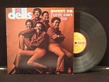 The Dells - Sweet As Funk Can Be on Cadet Records CA50021