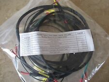 Farmall Super C Tractor Wiring Harness Kit With Battery Cables
