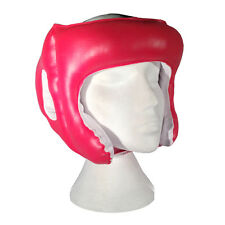 Kids Boxing Head/Ear Guard Kick Boxing, Rugby Head Protection Junior Size in RED