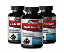 Extreme Weight Loss Pills - Acai Berry Lean 550mg - Acai Plants 3B