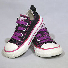 CONVERSE ALL STAR Chuck Taylor Baby Infant Shoes Sneakers Purple Glitter Size 5