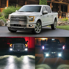 Xenon White LED Package Exterior Lights Bulbs Kit For 2015 2016 Ford F150 (8Pcs)