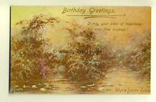 ar0094 - Birthday Greetings, Where Fairies Dream, Artist Cynicus - Postcard