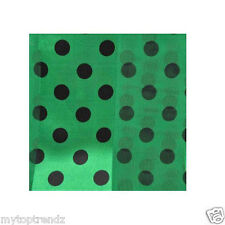 Ladies Dotted scarf Small- Medium Polka Dot Scarf Long Satin Chiffon Neck Wrap