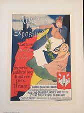 "EVENEPOEL H. ""ANVERS ET SON EXPOSITION"" 1898"