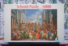 Schmidt 6000 piece puzzle - The Wedding Feast at Cana - Factory sealed - Rare !!