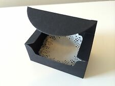 25PCS Wedding/Party Rectangle Black Bomboniere Favour Boxes / Lolly Boxes
