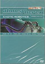 ATMOSPHEREX - BRAND NEW EXOTIC ROBOTICS --  REC REATE MUSIC DVD - FREE UK POST