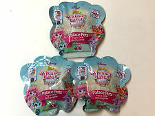(3)Disney Whisker Haven Pop & Stick Blind Bags Series 1 Palace Pets Mini figures