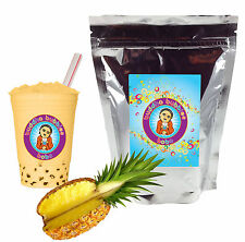 Pineapple Boba/ Bubble Tea Powder by Buddha Bubbles Boba (1 Pound | 453 Grams)