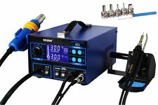 LCD Display 4in1 SMD Hot Air Gun Rework Soldering Iron Station SAMSUNG Tech 992D