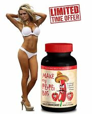 Male Enlargement - Sexual Herbs - MAKE MY PEPPER BIG (1 Bottle)