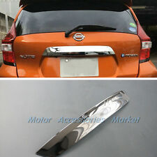 New Chrome Trunk Lid Cover Trim For Nissan Versa Note Hatchback 2017