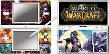 nintendo DS Lite - WORLD OF WARCRAFT - 4 Piece Sticker Skin UK