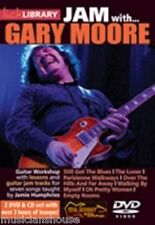 Lick Library Learn To Play Jam con Gary Moore aún tenemos el Guitarra Blues Dvd