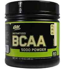NEW OPTIMUM NUTRITION BCAA 5000 INSTANTIZED AMINO ACID DIETARY SUPPLEMENTS 345g