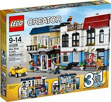 Lego Creator 31026 Bike Shop & Cafe (New) (Complements your 31036 31038 31050)