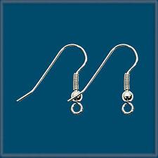 50 Sterling Silver 925 Earring Finding  Ear Wire Hook