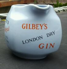 Scarce Gilbeys Gilbey's Gin Scotch Whisky Whiskey jug pitcher