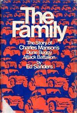 THE FAMILY Ed Sanders 1971 HC FIRST ED SIGNED BY VINCENT BUGLIOSI Charles Manson