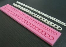 Chain Mold, Purse Chain Silicone Mold, Fondant Chain