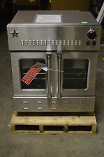 """Blue Star BWO30AGS 30"""" Stainless Single Gas Wall Oven NOB #11423"""