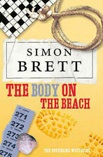 SIMON BRETT ____ THE BODY ON THE BEACH ___ BRAND NEW __ FREEPOST UK