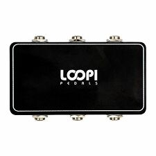Guitar Pedal Pedalboard Patchbox - 3in/3out - Loopi Pedals