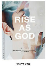 TOHOSHINKI TVXQ SPECIAL ALBUM [ RISE AS GOD ~ WHITE VERSION ] +PHOTO CARD
