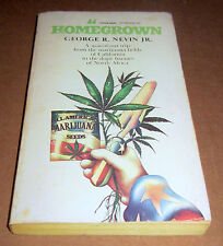 1979 HOMEGROWN NOVEL Sinsemilla MARIJUANA CANNABIS HASHISH CALIFORNIA AFRICA