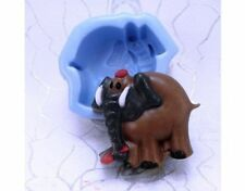 Handmade silicone soap mould - Elephant
