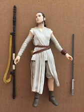 "Star Wars - Force Awakens- Black Series 6"" - Rey w/ Lightsaber  - Loose / MINT"