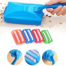 Teppichbürste Tabelle Crumb Sweeper Handheld Dual Brush sauberer Sammler Rollers