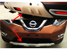 Radar hole Front Rear skid plate bumper board For Nissan X-Trail Rogue 2014-2016
