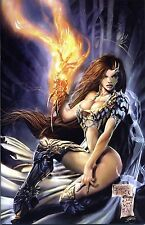 WITCHBLADE # 62 (US 100) deutsch VIRGIN-VARIANT PP lim.15 Ex. MICHAEL TURNER