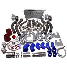 CX Twin Turbo Header Intercooler Kit For G-Body LS1 LSx Cutlass Grand National