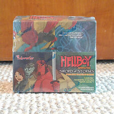 inkworks Hellboy Animated Sword of Storms Premium Trading Cards Display Box Set