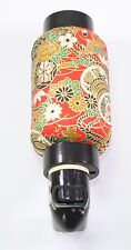 Red Flowers Oriental Japanese Washi Night Light Lamp Candle Home Decor Gift