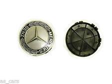 Llanta de aleación tapas acabado para Mercedes Benz Clase A 3 pulgadas diámetro