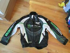 Tucker Hibbert Snowmobile Racing Monster Energy Castle X Racing Jacket Size S