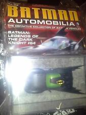 Batman Automobilia #32 Batmobile from Legend of the Dark Knight #64 Eaglemoss